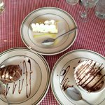 Desserts at Alessandro's