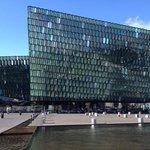 lo splendido palazzo del teatri dell'opera di Reykjavik