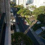 Kaiulani Ave, vista da sacada