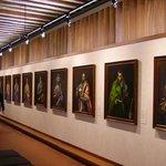 Una de las galerías con las obras de El greco.