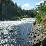 A Sasaginnigak river