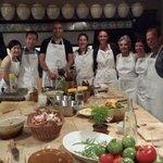 Cooking class at La Mirande