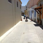 Tooling down the backroads of Nicosia's on the Segway