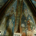 Frescoes in the cloisters