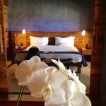 Suite de luxe .bem ampla e confortável !