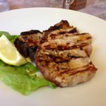 Grilled port steak