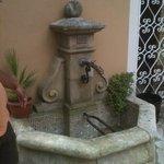 petite fontaine sympathique