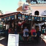 Rip's Bar near Cabo Wabo.....stop by and say hi to Ivan!!