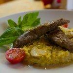 Dom Tatarskoi Kulinarii: risotto with lamb