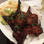 dry and overcooked lamb chops