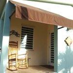 Front of casita