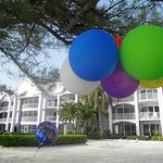 i palloni al vento