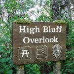 The is the place! High Bluff Overlook