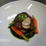 kobe Beef with black truffles.