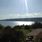 Ultimo raggio di sole sul lago