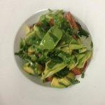 summer salad avocado