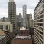 A glimpse of Wrigley's Building