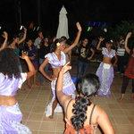 Guests dancing sega and having lots of fun