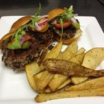 House made Black Bean Burgers Yummy!!
