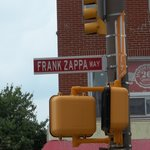 Frank Zappa Way in downtown Baltimore