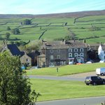 View from our room, Gunnerside