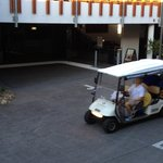 Reception and Golf Buggy