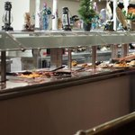 Rhis is just a small portion of the buffet. Clean, lots of variety.