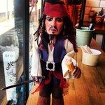 Captain Jack comes to Lazy Jacks Kitchen