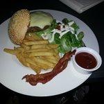 room service - burger