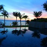 Gorgeous sunset from the pool on our last night @ Beyond Resort Krabi