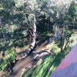View of creek from the verandah