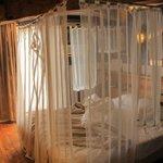 le lit à badaquin