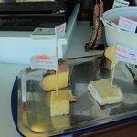 fromages maison du petit déjeuner
