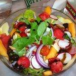 La Salade du Bistrot, une assiette très rafraîchissante !
