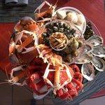 Le plateau de Fruits de mer sur Réservation