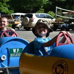 Love the barrel train rides!!