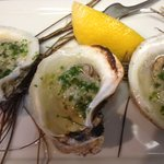 Grilled Salt Hay Oysters