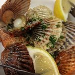 Steamed Taylor Bay Scallops