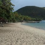 """Short walk from our """"private"""" beach to dock & Grill restaurant"""