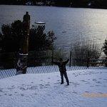 y amaneció con nieve...