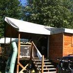 Camping Val de Bonnal - Ecolodge on stilts