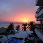 Amazing view and sunsets from balcony of room
