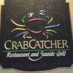 CrabCatcher sign