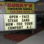 Gorky's - Eat in or on the patio