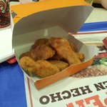 """Chicken Tenders"". The brilliant chicken nuggets you used to be able to get in the UK."