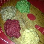 patè vegetali misti