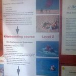 prices for the kiteboarding school on hotel property