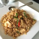 Thai Basil Fried brown rice with Chicken