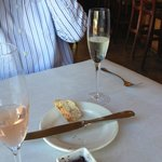 Bread and Sparkling Wine