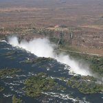 Vic. Falls by copter.
